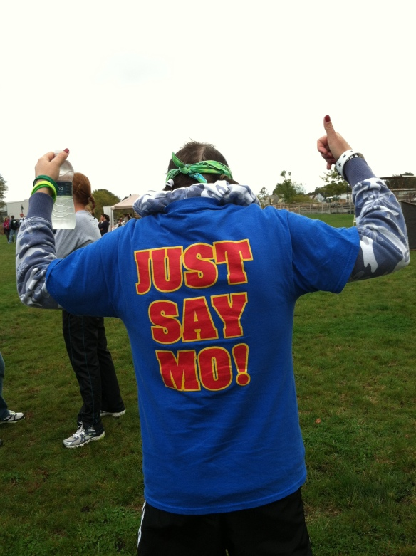JUST SAY MO-last year at the 2012 Liver Liver Walk held in Stamford, CT