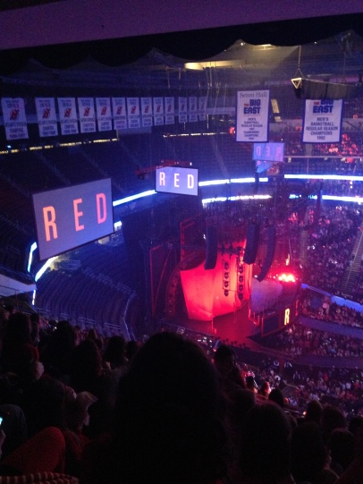 "I got to see Taylor Swift live for her ""RED"" tour in March 2013!"