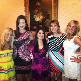 Bridesmaids for Kea's wedding in April 2013. FU all the time!