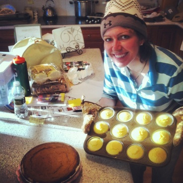 I really got into baking during the winter months. All gluten-free for this Celiac girl!