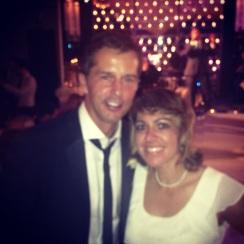 My best friend Allison married the man of her dreams, Mr. #9 himself, Mike Modano