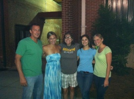 In September 2012 I got to travel to Greenville, SC to see some of my best friends!