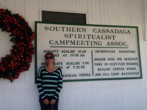 At the Cassadaga spiritual camp in Cassadaga, FL