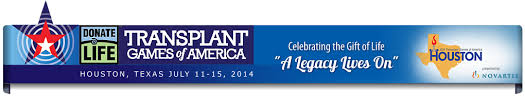 The 2014 Transplant Games of America will be held in Houston, TX July 11-15!