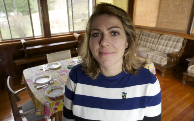 Monique Gesualdi, 28, of Danbury, Conn, has undergone a liver transplant and two brain surgeries and has had an amazing recovery. Her family is instrumental in her recovery and Sunday afternoon dinner at her grandparents house has been a large part of that. Sunday, April 27, 2014. Photo: H John Voorhees III