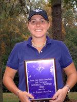 Monique Gesualdi, winner of the 2004 Lady Paladin Golf Classic